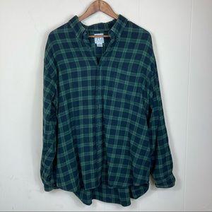90's Vintage Field Gear Flannel Size XXL